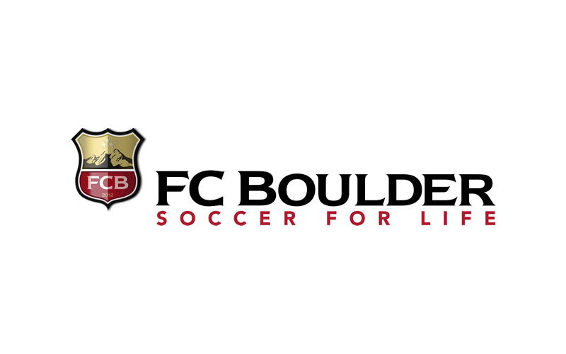 For FC Boulder, a youth soccer club, we were trusted to created everything from the gound up. So we started with the logo.