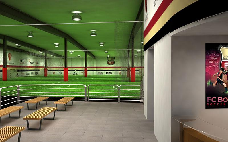 3D Modeling – FC Boulder – Indoor Training Center
