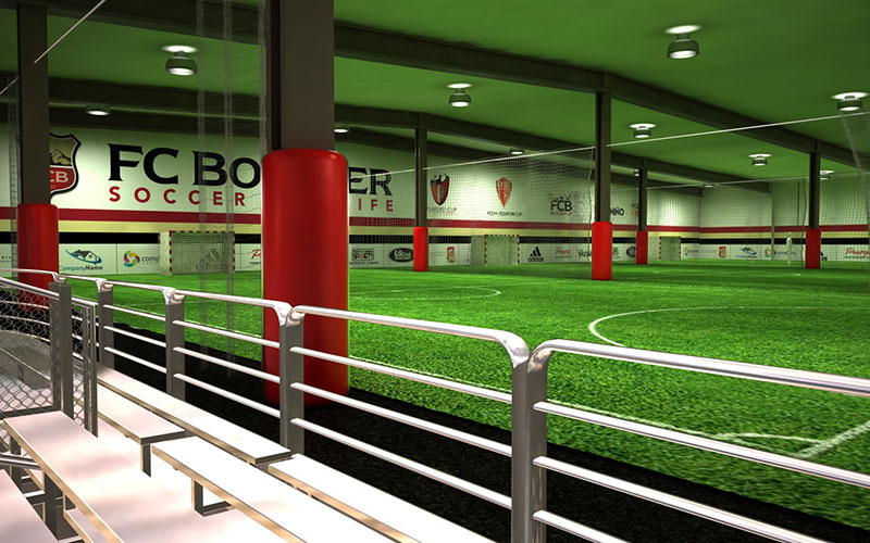 3D Modeling – FC Boulder – Indoor Training Center