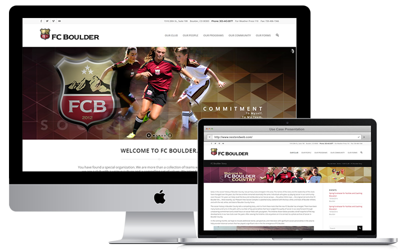 We created a practical, simple to navigate website with the same DNA as every other material from the FC Boulder brand. Please visit www.fcboulder.com.